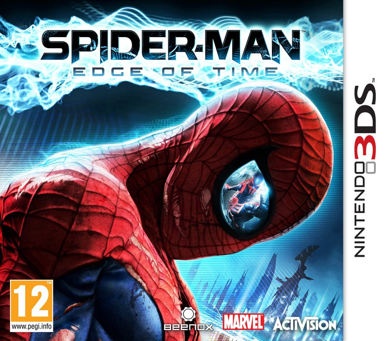 Spider-Man - Edge of Time 3DS coverHQ (AS7P)