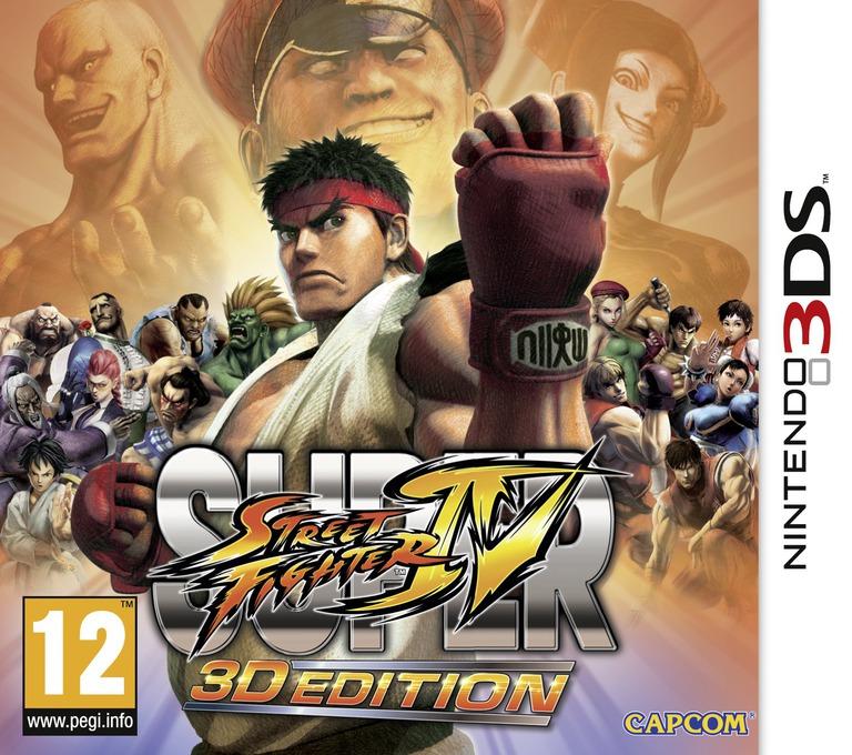 Super Street Fighter IV - 3D Edition 3DS coverHQ (ASSP)