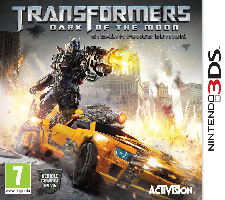 Transformers - Dark of the Moon - Stealth Force Edition 3DS coverHQ (ATFP)