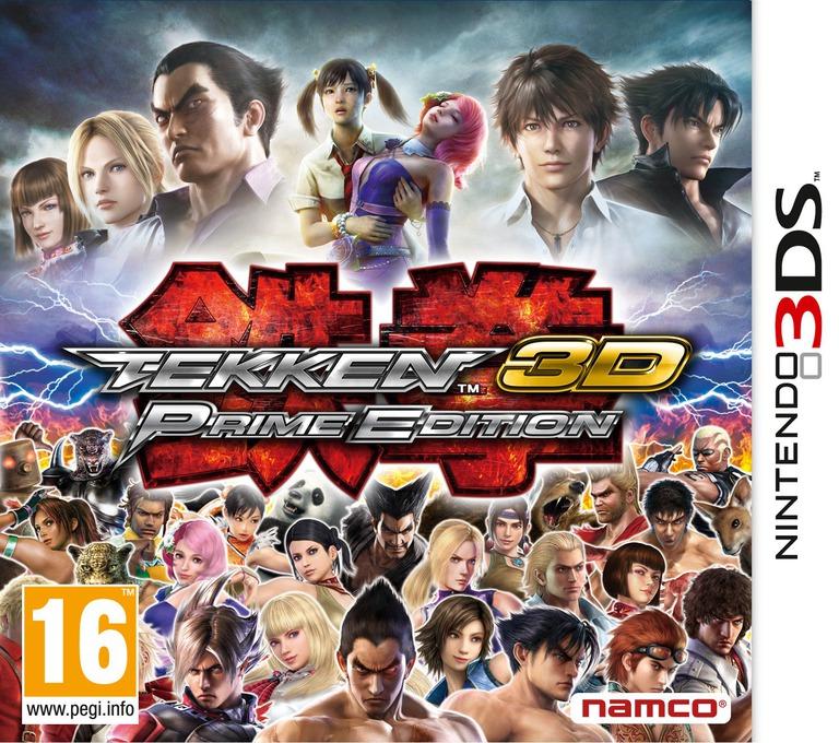 Tekken 3D - Prime Edition 3DS coverHQ (ATKP)