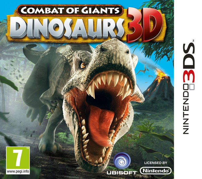 Combat of Giants - Dinosaurs 3D 3DS coverHQ (ATTP)