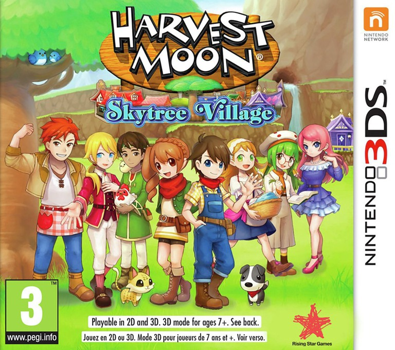 Harvest Moon: Skytree Village 3DS coverHQ (AVAP)
