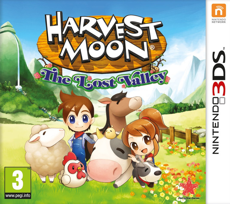 Harvest Moon 3D - The Lost Valley 3DS coverHQ (AVMP)