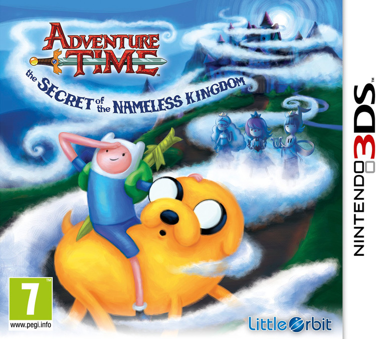 Adventure Time - The Secret of the Nameless Kingdom 3DS coverHQ (AVTP)