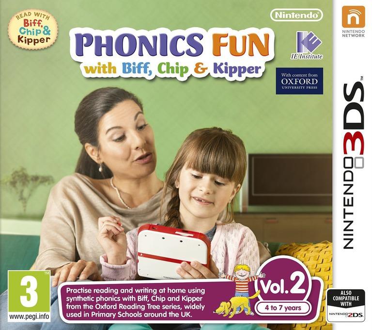 Phonics Fun with Biff, Chip & Kipper Vol. 2 3DS coverHQ (AX2P)