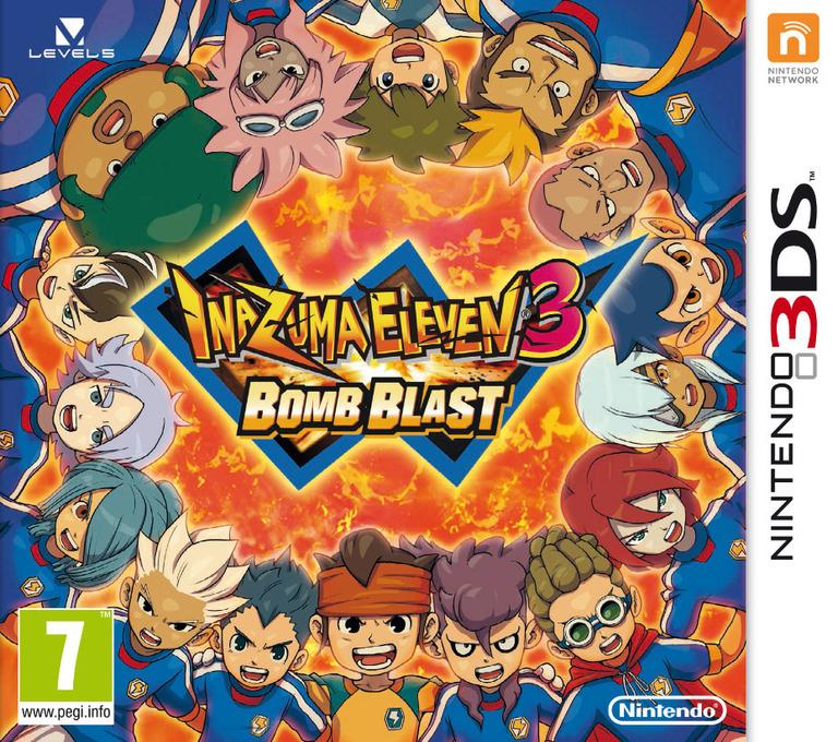 Inazuma Eleven 3 - Bomb Blast 3DS coverHQ (AXBP)