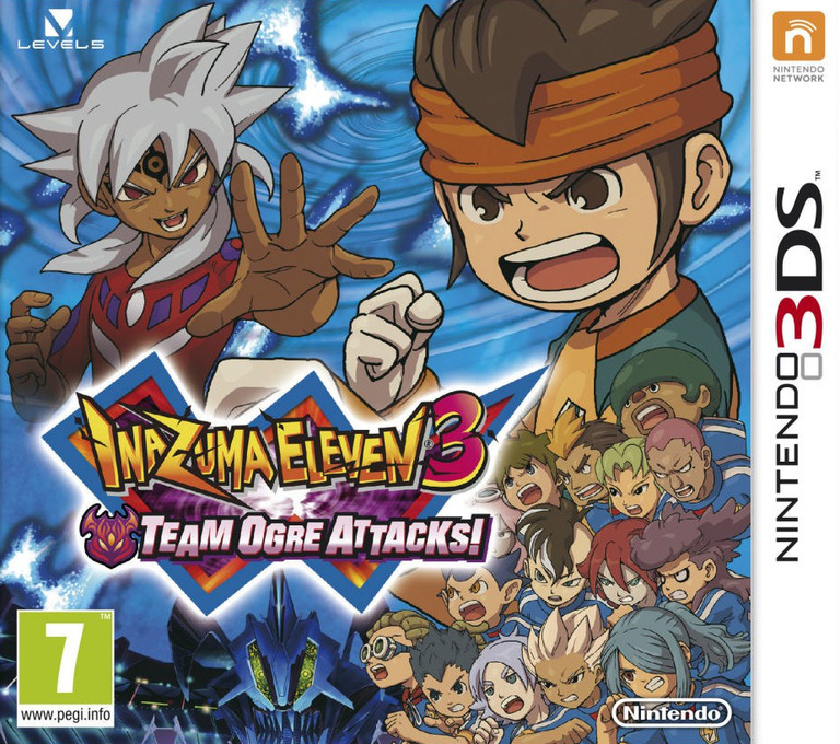 Inazuma Eleven 3 - Team Ogre Attacks! 3DS coverHQ (AXGP)