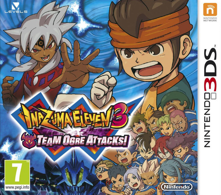 Inazuma Eleven 3 - Team Ogre Attacks! 3DS coverHQ (AXGZ)