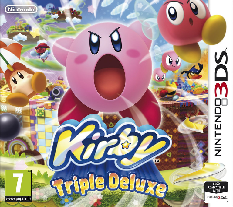 Kirby - Triple Deluxe 3DS coverHQ (BALP)