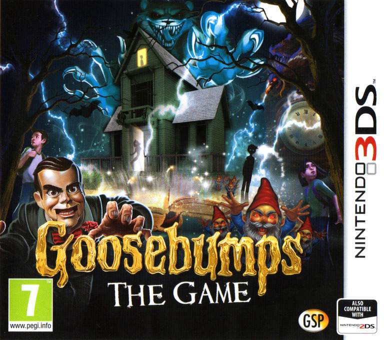 Goosebumps - The Game 3DS coverHQ (BBMP)