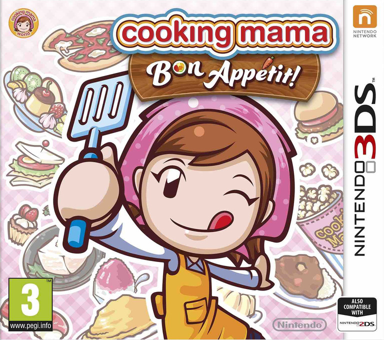 Cooking Mama - Bon Appetit! 3DS coverHQ (BC5P)