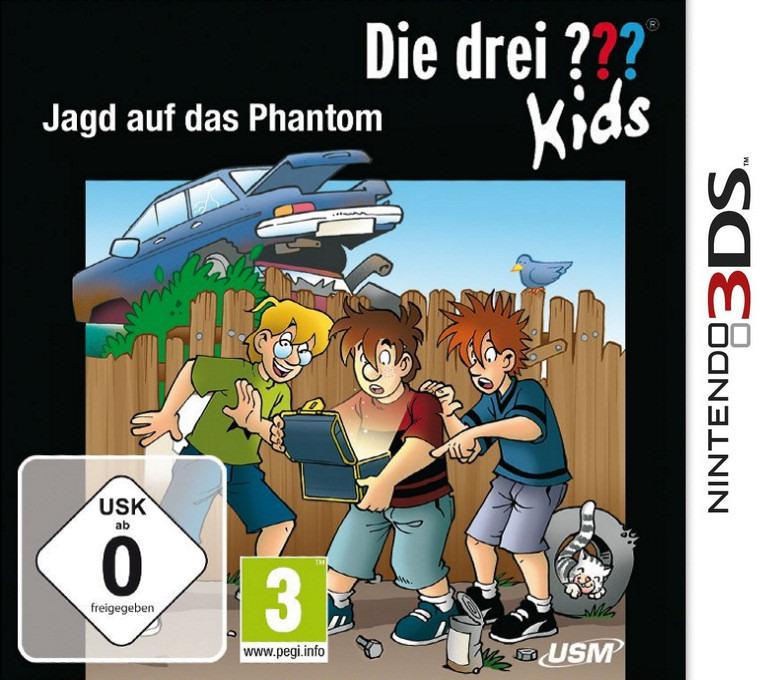 Die drei Fragezeichen Kids - Jagd auf das Phantom 3DS coverHQ (BD4D)