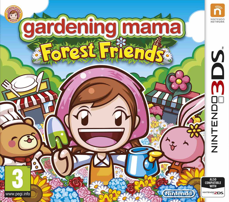 Gardening Mama - Forest Friends 3DS coverHQ (BGMP)