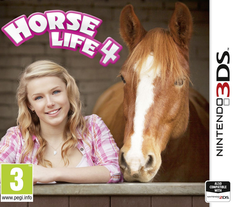 Horse Life 4 3DS coverHQ (BH4P)