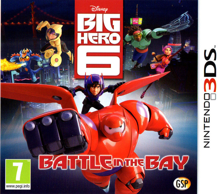 Big Hero 6 - Battle in the Bay 3DS coverHQ (BH6P)