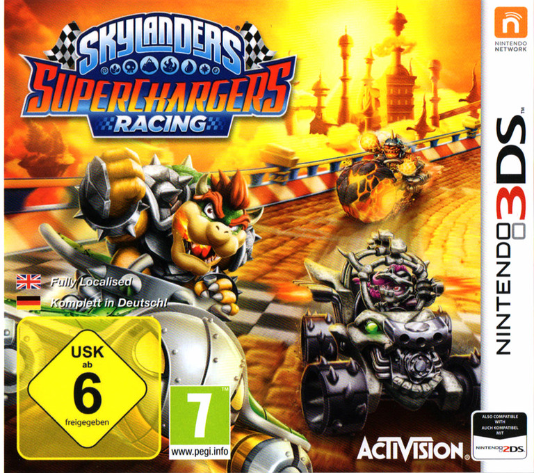 Skylanders SuperChargers Racing 3DS coverHQ (BL5P)