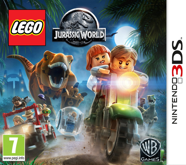 LEGO Jurassic World 3DS coverHQ (BLJP)