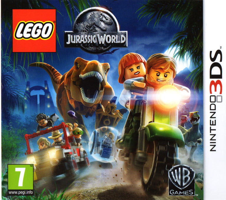 LEGO Jurassic World 3DS coverHQ (BLJV)