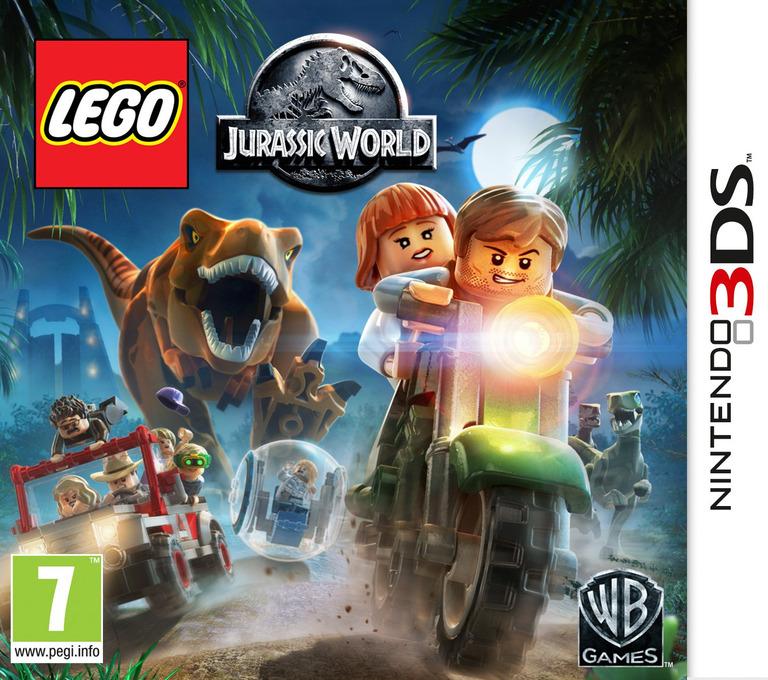 LEGO Jurassic World 3DS coverHQ (BLJX)