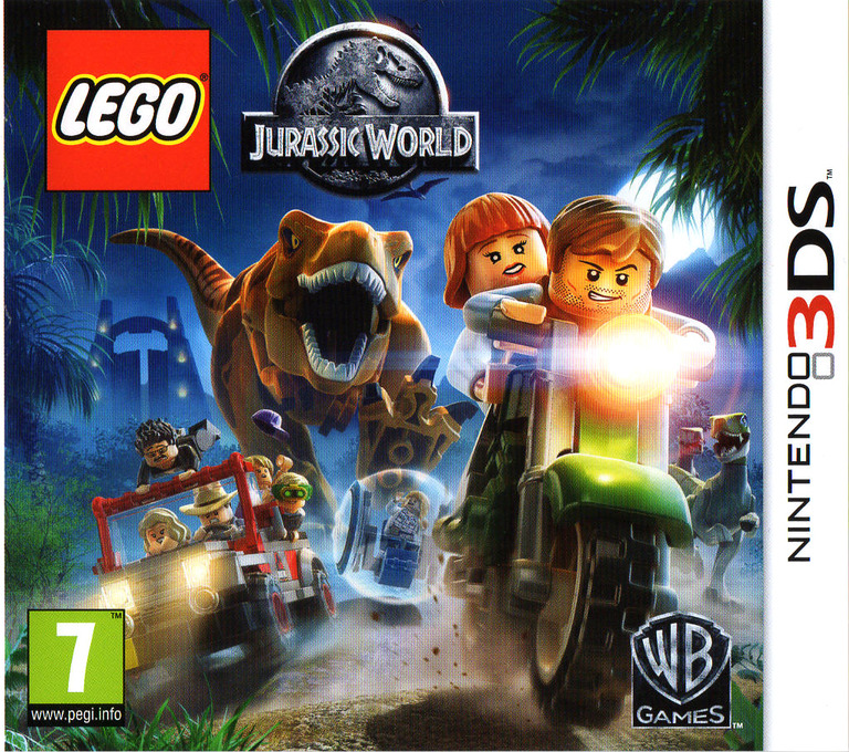 LEGO Jurassic World 3DS coverHQ (BLJY)