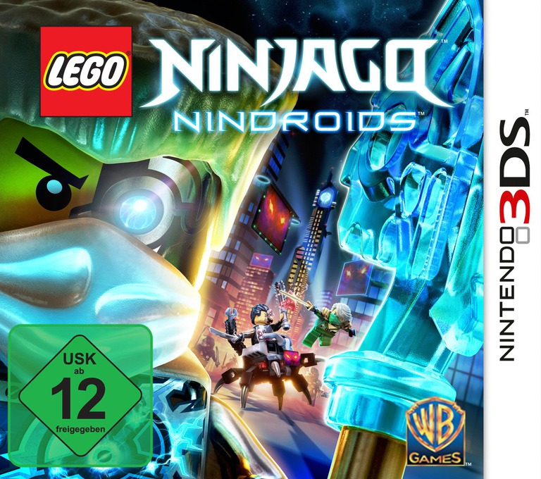 LEGO Ninjago - Nindroids 3DS coverHQ (BLNY)
