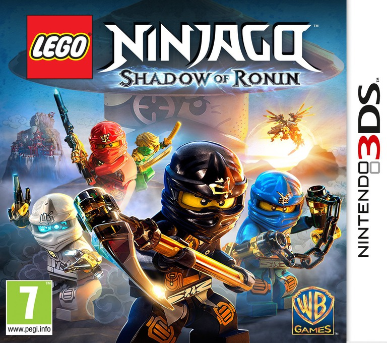LEGO Ninjago - Shadow of Ronin 3DS coverHQ (BLSX)