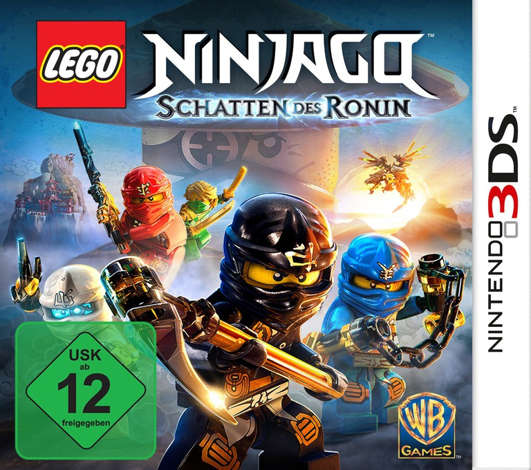 LEGO Ninjago - Shadow of Ronin 3DS coverHQ (BLSY)