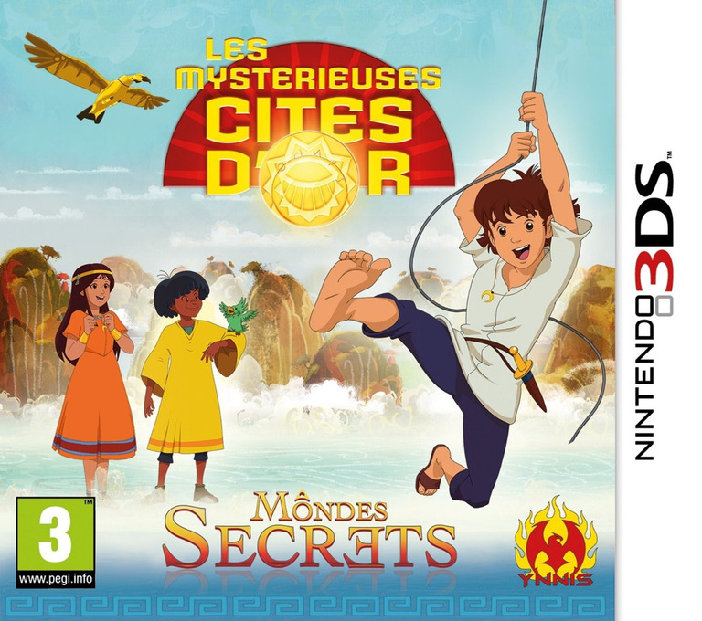 The Mysterious Cities of Gold - Secret Paths 3DS coverHQ (BMCP)