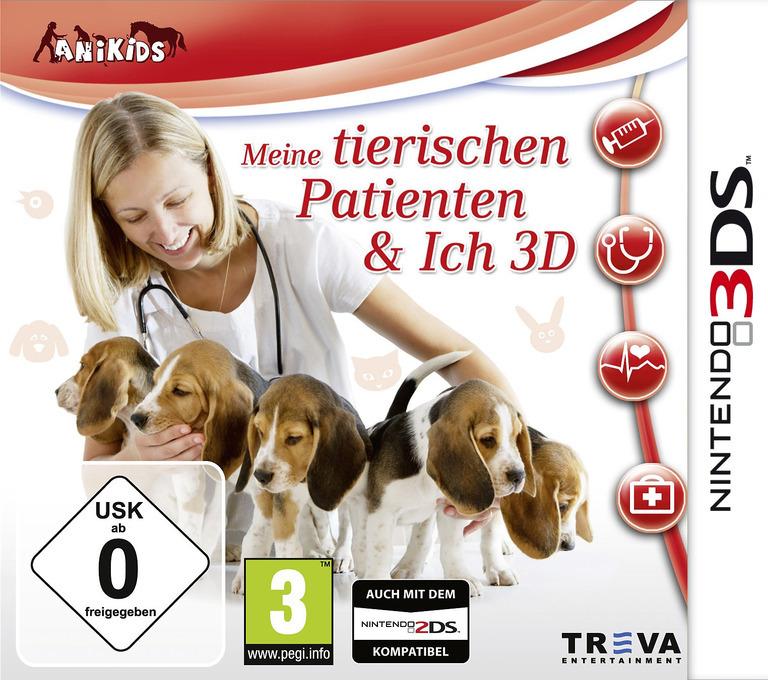 Me & My Furry Patients 3D 3DS coverHQ (BMTP)