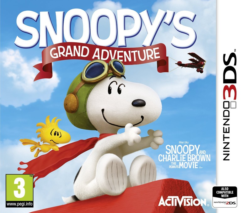 The Peanuts Movie - Snoopy's Grand Adventure 3DS coverHQ (BPEP)