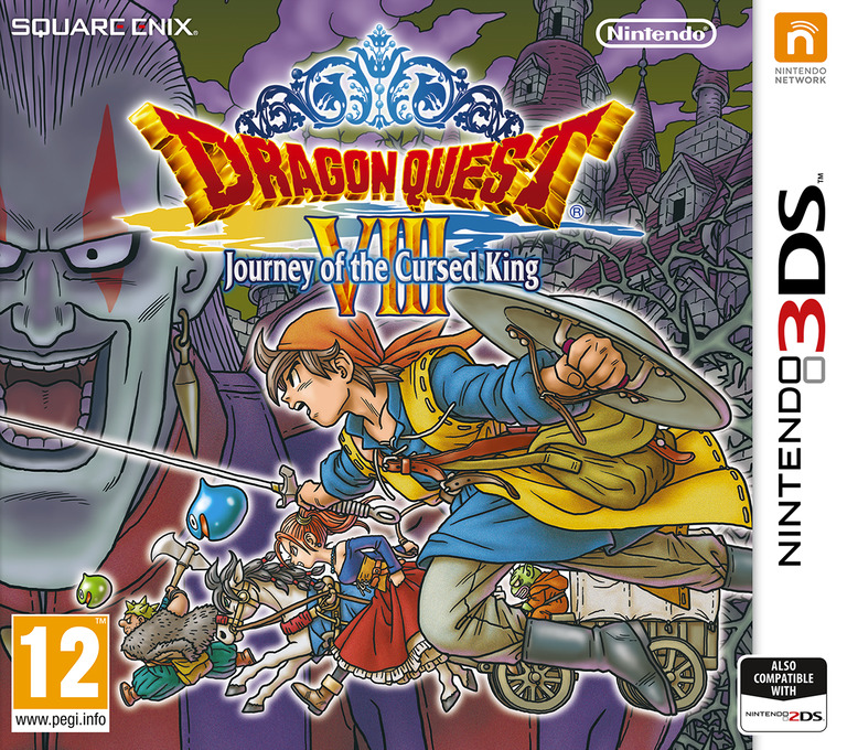 Dragon Quest VIII: Journey of the Cursed King 3DS coverHQ (BQ8P)