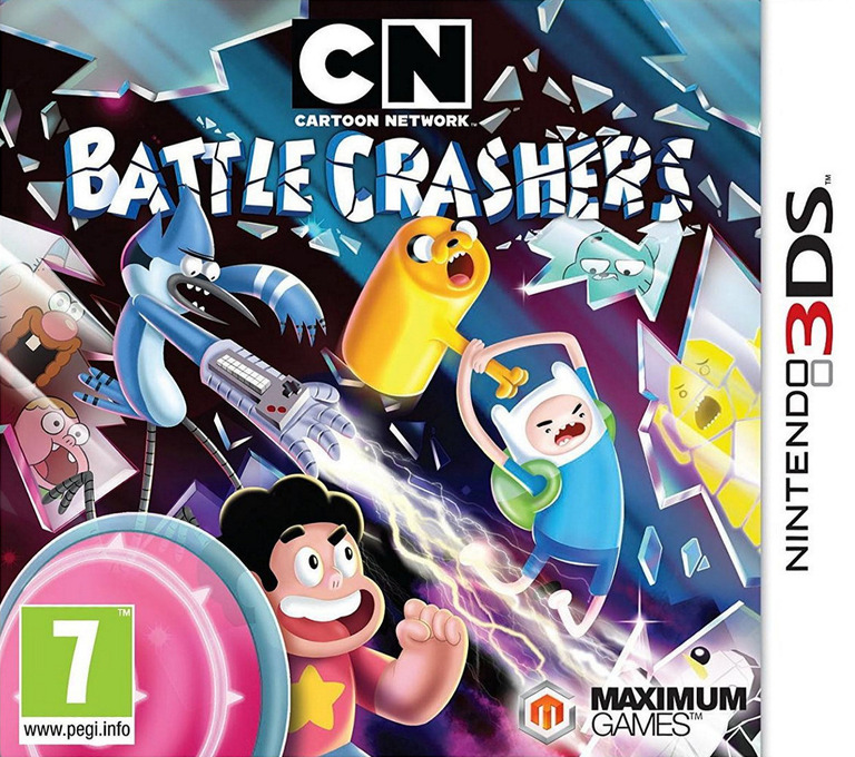 Cartoon Network - Battle Crashers 3DS coverHQ (BRWZ)