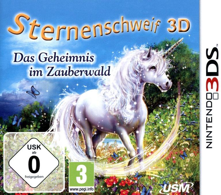 Sternenschweif 3D - Das Geheimnis im Zauberwald 3DS coverHQ (BSCD)