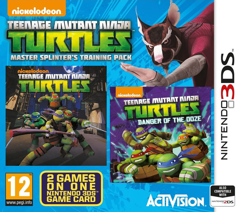 Teenage Mutant Ninja Turtles - Master Splinter's Training Pack 3DS coverHQ (BTNP)