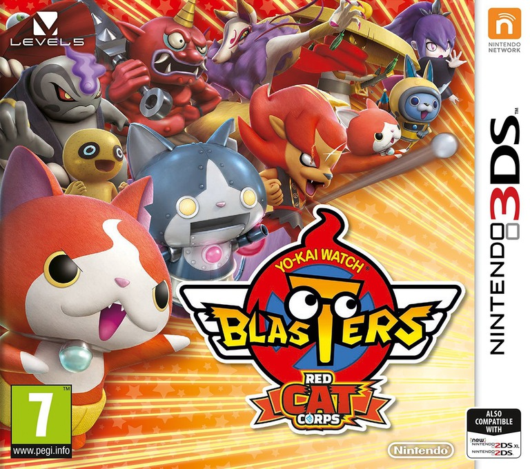 Yo-Kai Watch Blasters: Red Cat Corps 3DS coverHQ (BYAP)