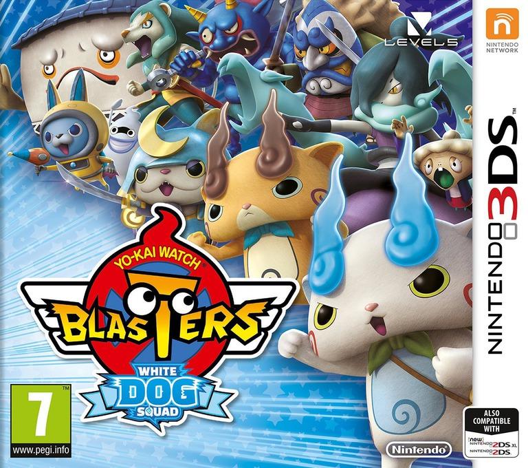 Yo-Kai Watch Blasters: White Dog Squad 3DS coverHQ (BYBP)