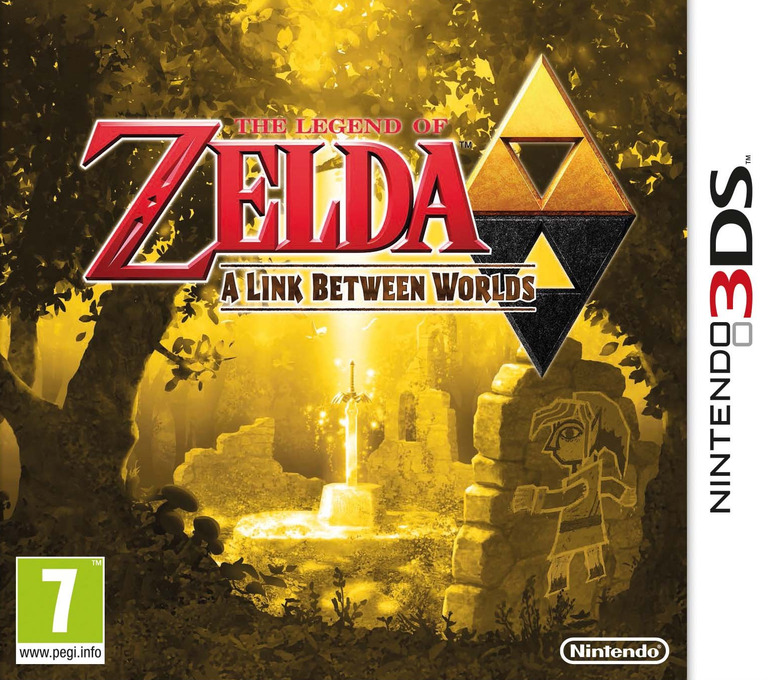 The Legend of Zelda - A Link Between Worlds 3DS coverHQ (BZLP)