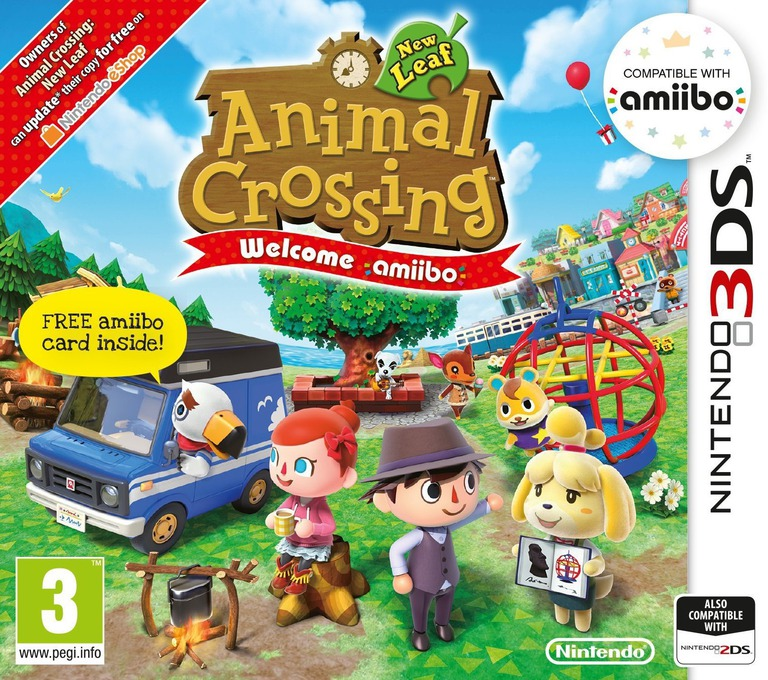 Animal Crossing: New Leaf - Welcome amiibo 3DS coverHQ (EAAP)