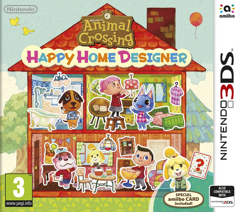 Animal Crossing - Happy Home Designer 3DS coverHQ (EDHP)