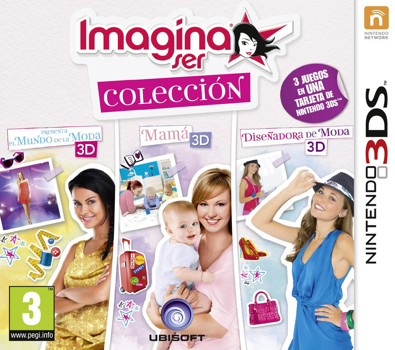 Imagine ser colección 3DS coverHQ (BCLP)