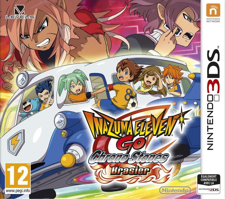 Inazuma Eleven GO - Chrono Stones - Brasier 3DS coverHQ (ANPP)