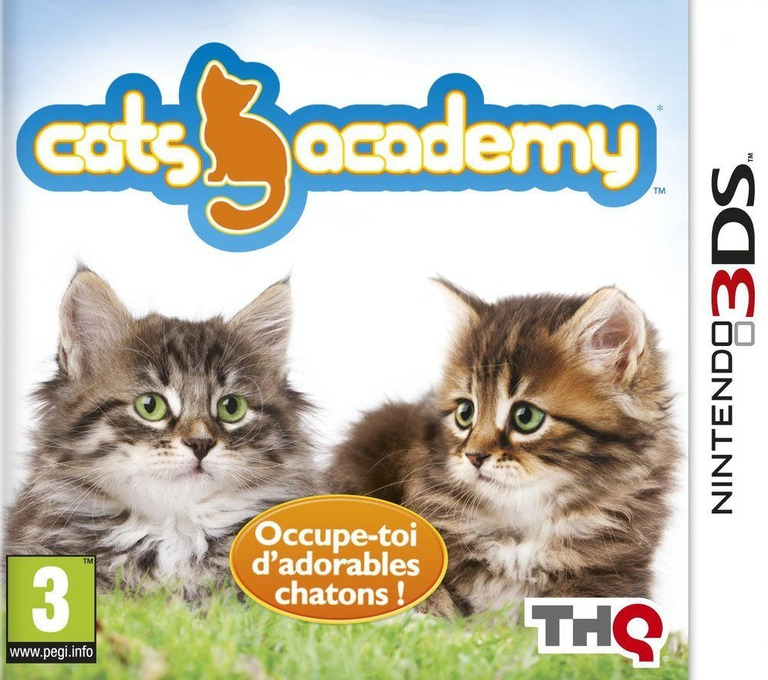 Cats Academy 2 3DS coverHQ (AP6P)