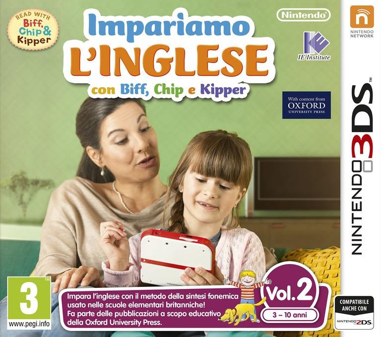 Impariamo L'inglese con Biff, Chip e Kipper Vol. 2 3DS coverHQ (AX2P)
