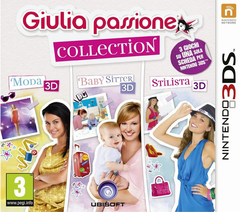 Giulia passione collection 3DS coverHQ (BCLP)