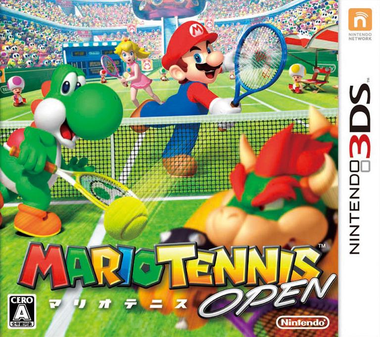 マリオテニス オープン 3DS coverHQ (AGAJ)