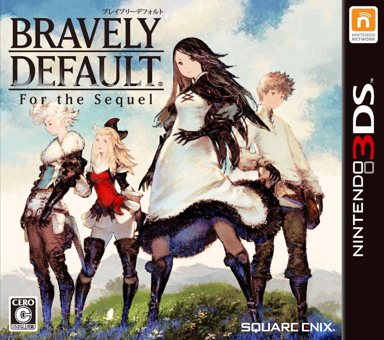 BRAVELY DEFAULT -For the Sequel- 3DS coverHQ (BTRJ)