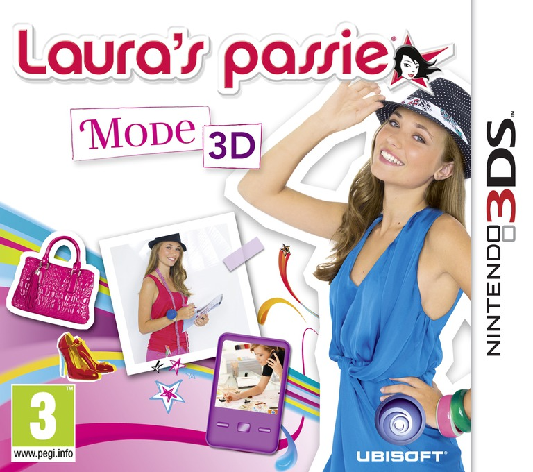 Laura's Passie - Mode 3D 3DS coverHQ (AGUP)