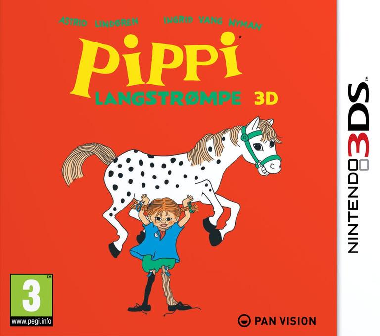 Pippi Langstrømpe 3D 3DS coverHQ (APEP)