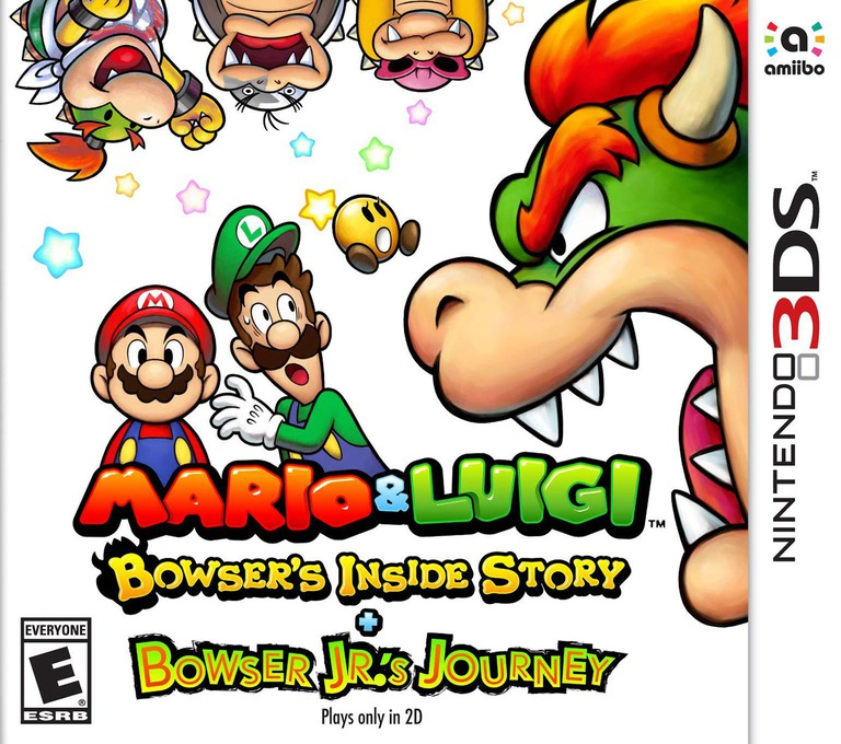 Mario & Luigi: Bowser's Inside Story + Bowser Jr.'s Journey 3DS coverHQ (A3RE)