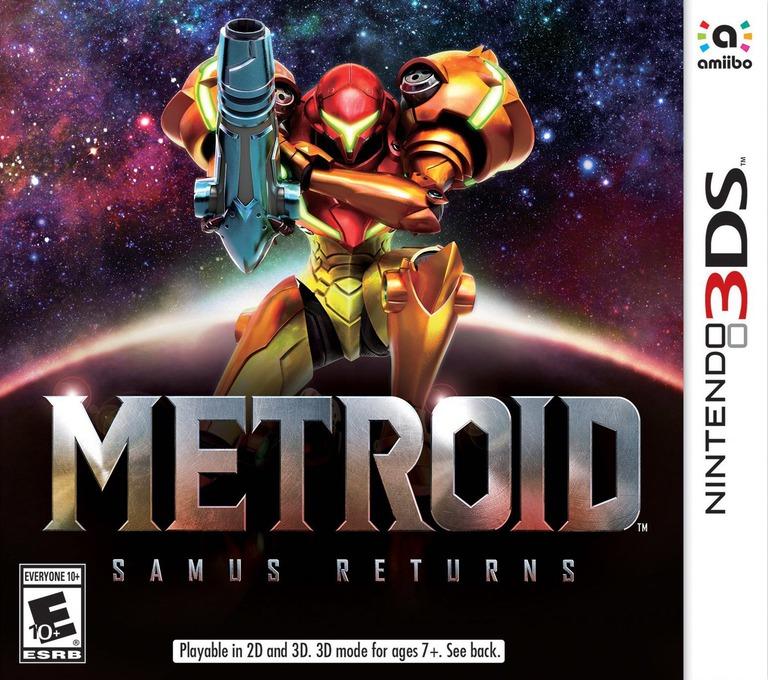 Metroid: Samus Returns 3DS coverHQ (A9AE)